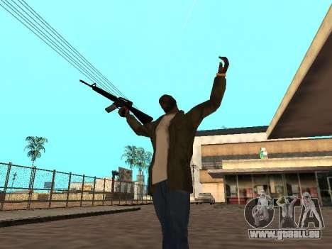 WeaponStyles pour GTA San Andreas