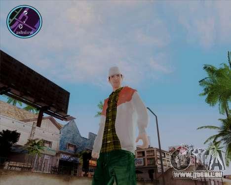 Maccer HD pour GTA San Andreas quatrième écran