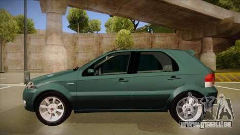 FIAT Palio ELX 2010 für GTA San Andreas zurück linke Ansicht