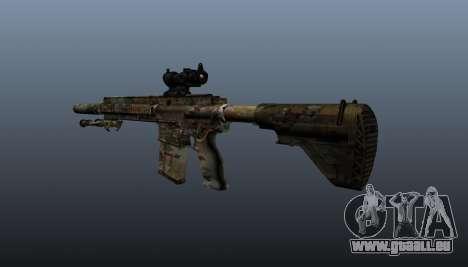 HK417 rifle v2 pour GTA 4 secondes d'écran