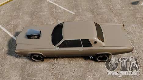 Neue Buccaneer-v2 für GTA 4 hinten links Ansicht