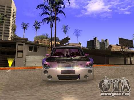 Vaz 2102 DRFT amusant pour GTA San Andreas vue arrière