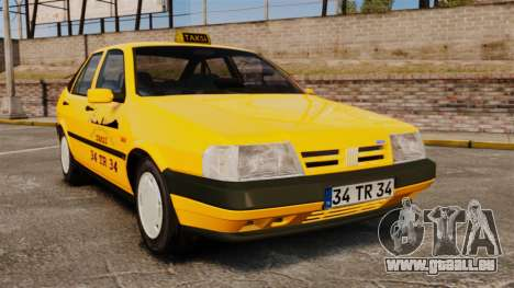 Fiat Tempra SX.A Turkish Taxi pour GTA 4