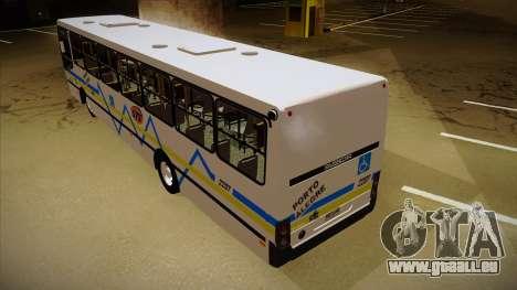 Busscar Urbanuss Ecoss MB OF 1722 M Porto Alegre pour GTA San Andreas vue arrière