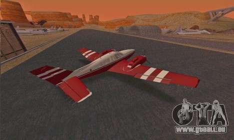 Rustler GTA V pour GTA San Andreas vue de droite