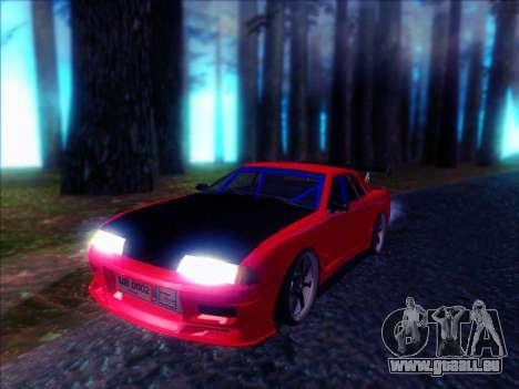 Elegy Drift Concept pour GTA San Andreas sur la vue arrière gauche