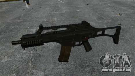 HK G36C assault rifle v1 pour GTA 4 troisième écran