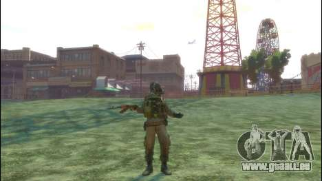 Un soldat russe v3.0 pour GTA 4 cinquième écran