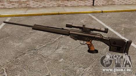 HK PSG10 Scharfschützengewehr für GTA 4 dritte Screenshot
