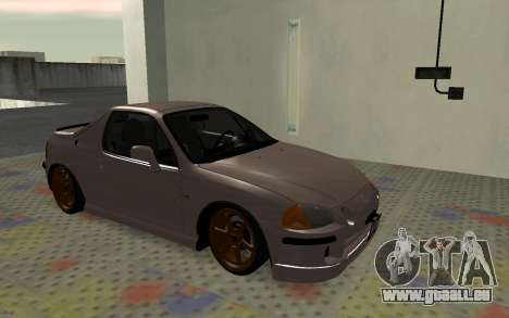 Honda CRX DelSol TMC für GTA San Andreas linke Ansicht