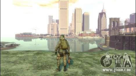 Un soldat russe v3.0 pour GTA 4 quatrième écran