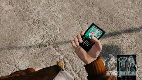 Thèmes pour téléphone Vampire The Masquerade pour GTA 4 quatrième écran