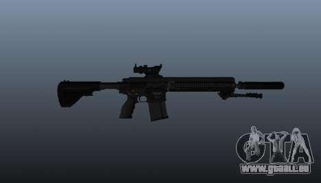 HK417 Gewehr v1 für GTA 4 dritte Screenshot