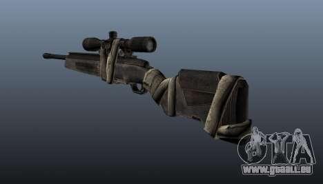 Scharfschützengewehr Steyr Elite für GTA 4 Sekunden Bildschirm