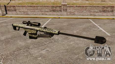 Le v8 de fusil de sniper Barrett M82 pour GTA 4