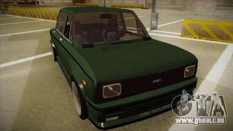 Fiat 128 Europe V Tuned pour GTA San Andreas laissé vue