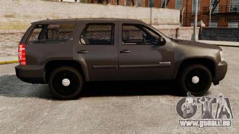 Chevrolet Tahoe Slicktop [ELS] v2 pour GTA 4 est une gauche