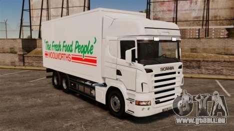 Scania R580 Tandem Woolworths für GTA 4