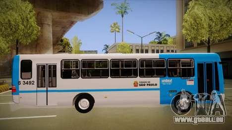 Masarello Gran Via pour GTA San Andreas sur la vue arrière gauche