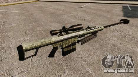 Le v6 de fusil de sniper Barrett M82 pour GTA 4 secondes d'écran