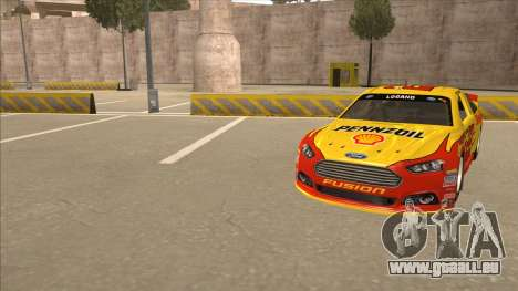 Ford Fusion NASCAR No. 22 Shell Pennzoil pour GTA San Andreas