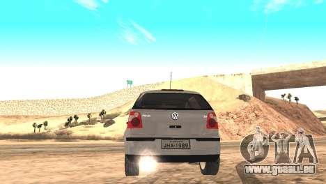 Volkswagen Polo 2.0 2005 pour GTA San Andreas laissé vue