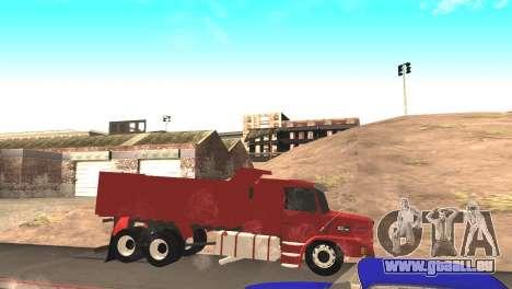 Scania 112HW pour GTA San Andreas laissé vue