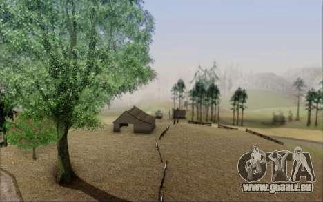 Nouvelle végétation 2013 pour GTA San Andreas troisième écran