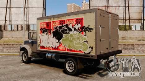 Nouveau graffiti à Yankee pour GTA 4 Vue arrière