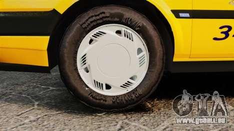 Fiat Tempra SX.A Turkish Taxi für GTA 4 rechte Ansicht