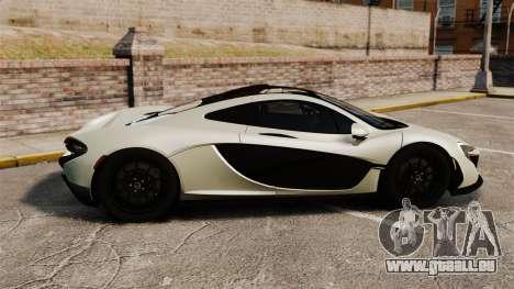 McLaren P1 [EPM] für GTA 4 linke Ansicht
