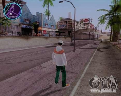 Maccer HD pour GTA San Andreas troisième écran