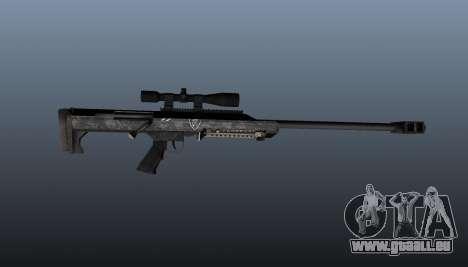Fusil de précision Barrett M99 pour GTA 4 troisième écran