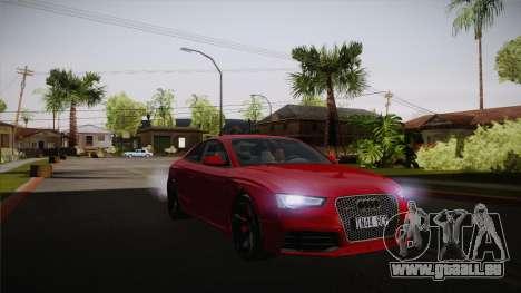 Audi RS5 2012 für GTA San Andreas Innenansicht