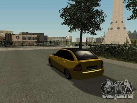 VAZ-2172 für GTA San Andreas linke Ansicht