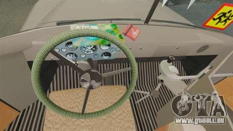Kavz-685 pour GTA 4 est une vue de l'intérieur