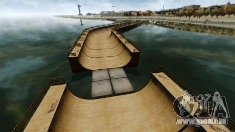 Ponts-levis pour GTA 4 cinquième écran