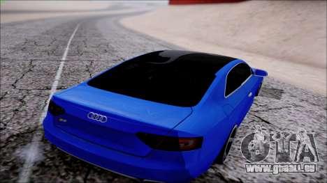Audi S5 für GTA San Andreas rechten Ansicht