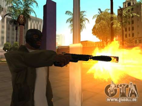 WeaponStyles für GTA San Andreas siebten Screenshot