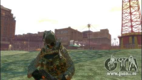 Un soldat russe v3.0 pour GTA 4 troisième écran