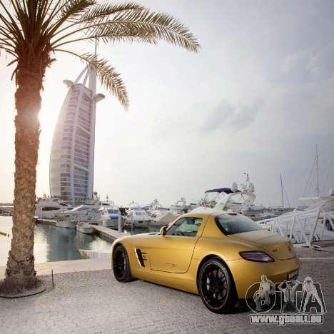 Écrans de chargement Mercedes-Benz pour GTA 4 quatrième écran