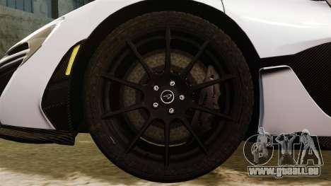 McLaren P1 [EPM] pour GTA 4 Vue arrière