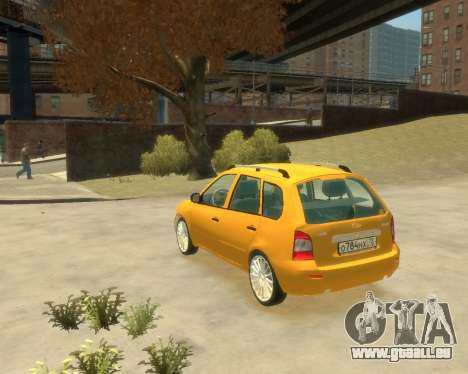 Lada Kalina Fließheck für GTA 4 linke Ansicht