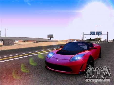 Tesla Roadster Sport 2011 für GTA San Andreas