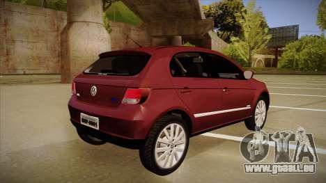 VW Gol Power 1.6 2009 für GTA San Andreas rechten Ansicht
