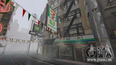 Magasins de Chinatown pour GTA 4 quatrième écran