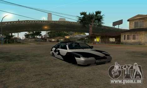 LADA 112 pour GTA San Andreas vue arrière