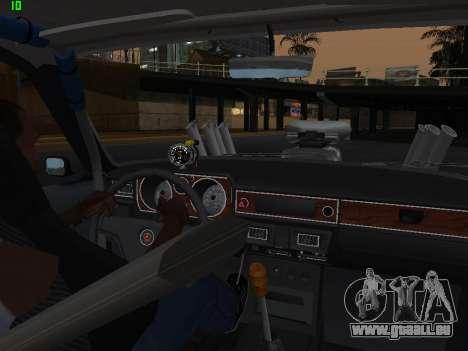 Gas-Drag-Ausgabe 24 für GTA San Andreas Seitenansicht