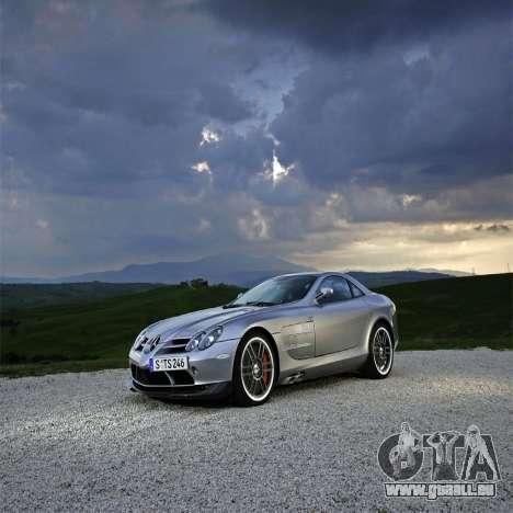 Écrans de chargement Mercedes-Benz pour GTA 4 sixième écran