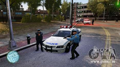 Sans tirets de police pour GTA 4